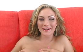 Lovable blond Venus can't live without being fucked hard and fast