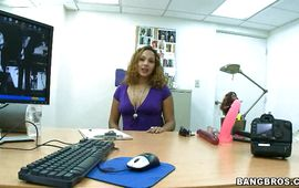 Cougar Anastaysha is mesmerizing you have seen