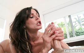 Worshipped busty brown-haired babe Kendra Lust is smoking hot who always needs a good fuck