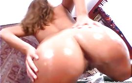 Racy brown-haired bombshell Azalea Lee and stud are making love in front of the camera just for pleasure