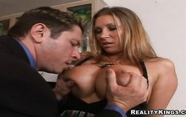 Tempting woman Devon Lee is using her opportunity to have sex with each fuckmate