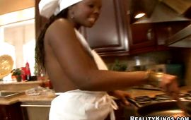 Sensational dark gf Stacy Adams is often cheating on her naive spouse with hunk