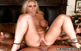 Delectable blond Julia Ann got drilled and it looks like she liked it