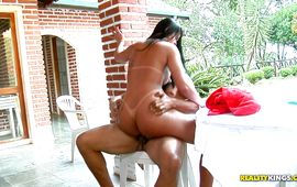 Wanton Nanda Paiva and adores riding a huge ramrod