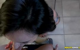 Prurient latina Melody Moans knows how to ride a wang