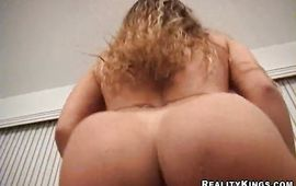 Staggering Brianna has a big arse and wants to fuck