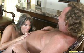 Depraved sweetie Randi Lane gets in line to be screwed