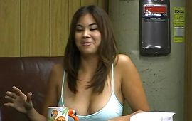 Fellow found nipponese brown-haired Mai Ly a playsome to smashed hard