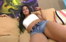 Startling latin whore Carmen Pena knows how to suck stick and make male moan and sigh from enjoyment