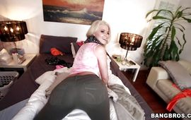 Nice-looking sweetie Anikka Albrite loves to have casual sex after the rehearsal