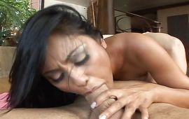 Goluptious brown-haired sweetie Priya Rai loves to get her tight wet pussy pounded