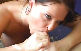 Buddy licks marvelous cuch of blonde oriental Maya Divine in advance of pushing dangler into it