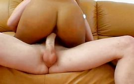 Hunk got a nice oral-service job from a tasty latina woman Cassandra Cruz and enjoyed it a lot