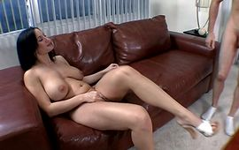 Ravishing maiden Stephanie and her secret dude are giving pleasure to each other all day long