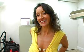 Appetizing playgirl Persia with firm tits is ready for some interesting and wild pounding