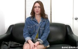 Topnotch darling Desirae Wood did her most good to seduce and fuck lad while no one is watching